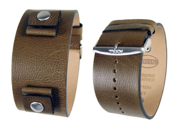 Fossil-Uhrenarmband-Ersatzband-Leder-20-mm-JR1204-oliv