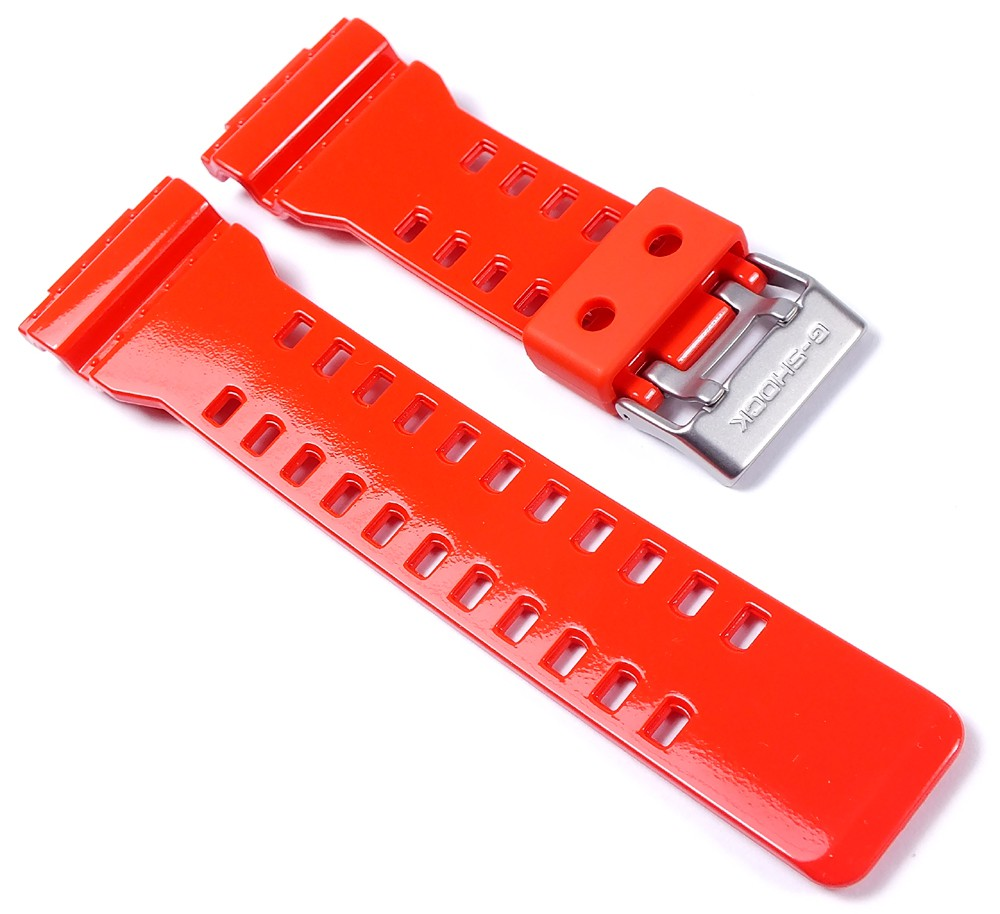 Casio pulsera resin rojo g 8900 gw 8900 gr 8900 ga 100 gwx 8900 ebay